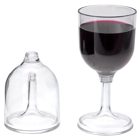 GSI Clear Nesting Red Wine Glass 79310