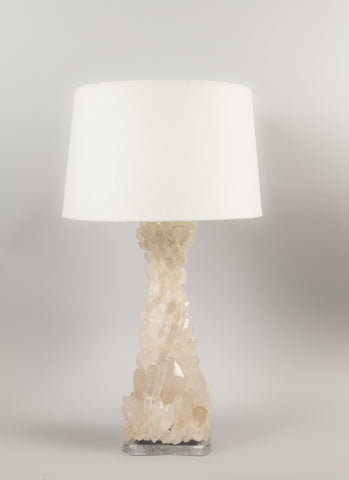 Crystal Quartz Lamp