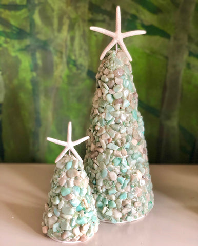 HOPE Tree Featuring Amazonite Pebbles