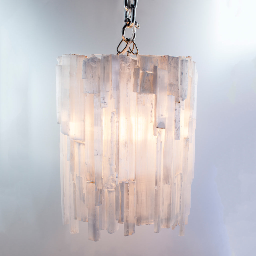 Selenite Chandelier