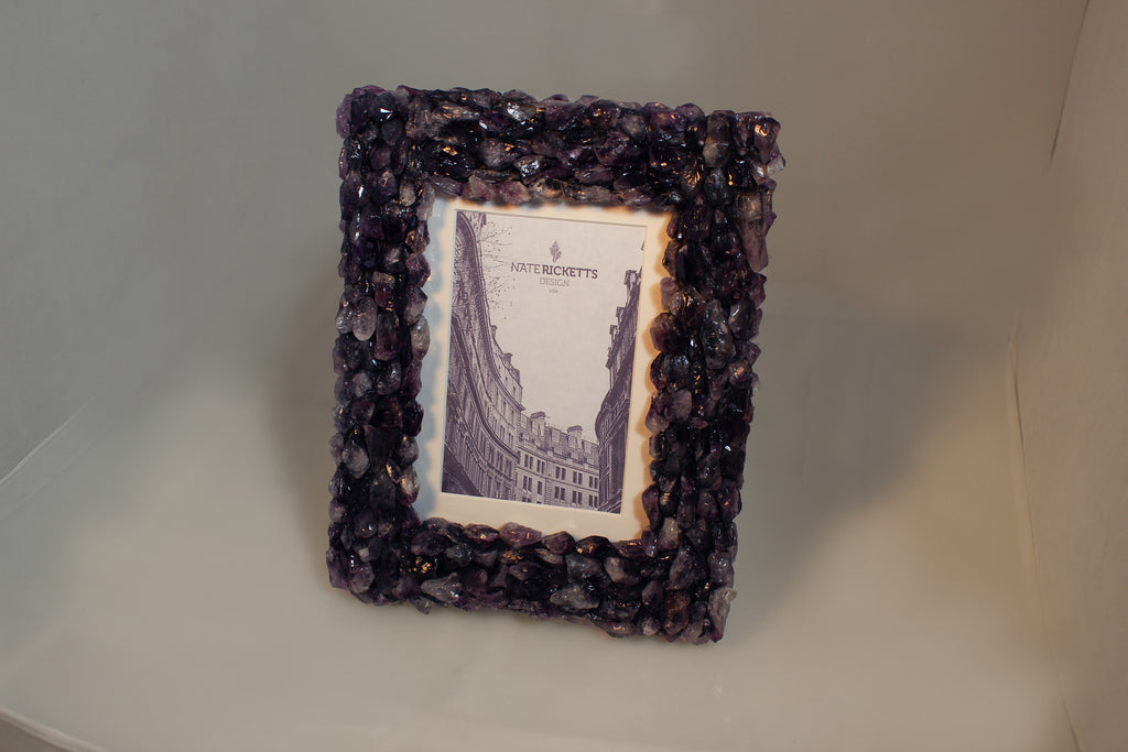 Amethyst Crystal Photo Frame