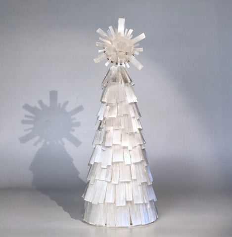 Selenite Tree with Starburst