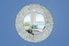 Quartz Point Oval Mirror