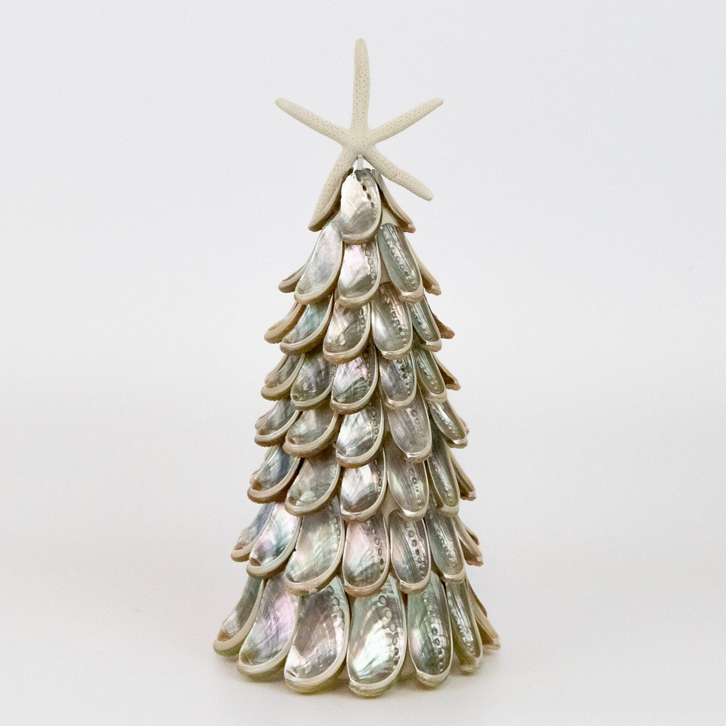 Silver Abalone Tree with Seastar W