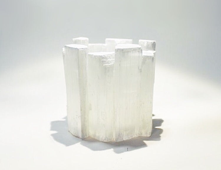 Selenite Tealight Votive