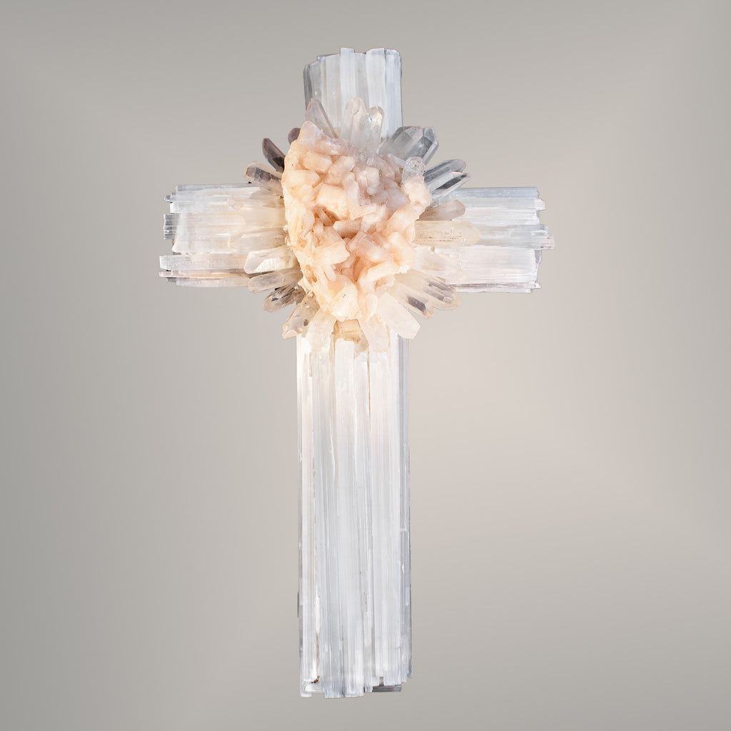Crystal Specimen Wall Cross