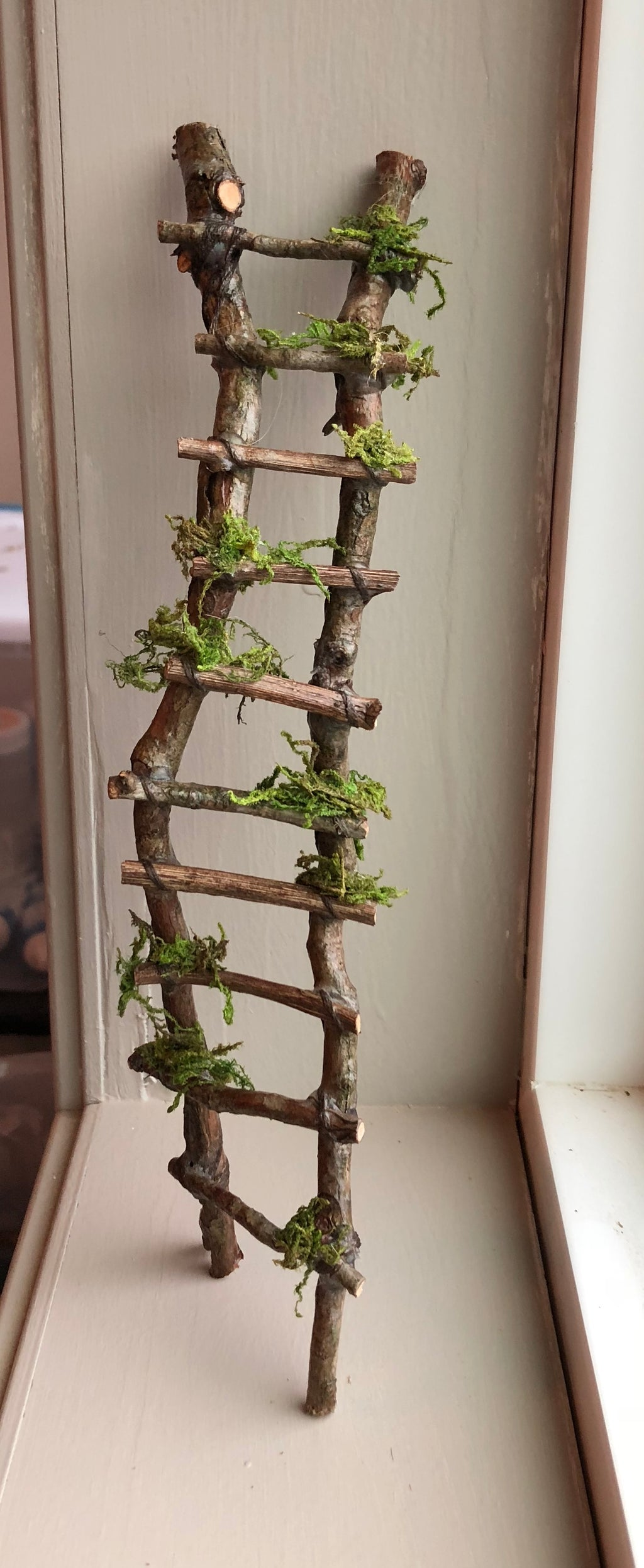 Rickety Ladder by Olive, Fairy Garden Ladder, Various Sizes