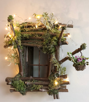 Fairy Window by Olive with Twinkle Lights