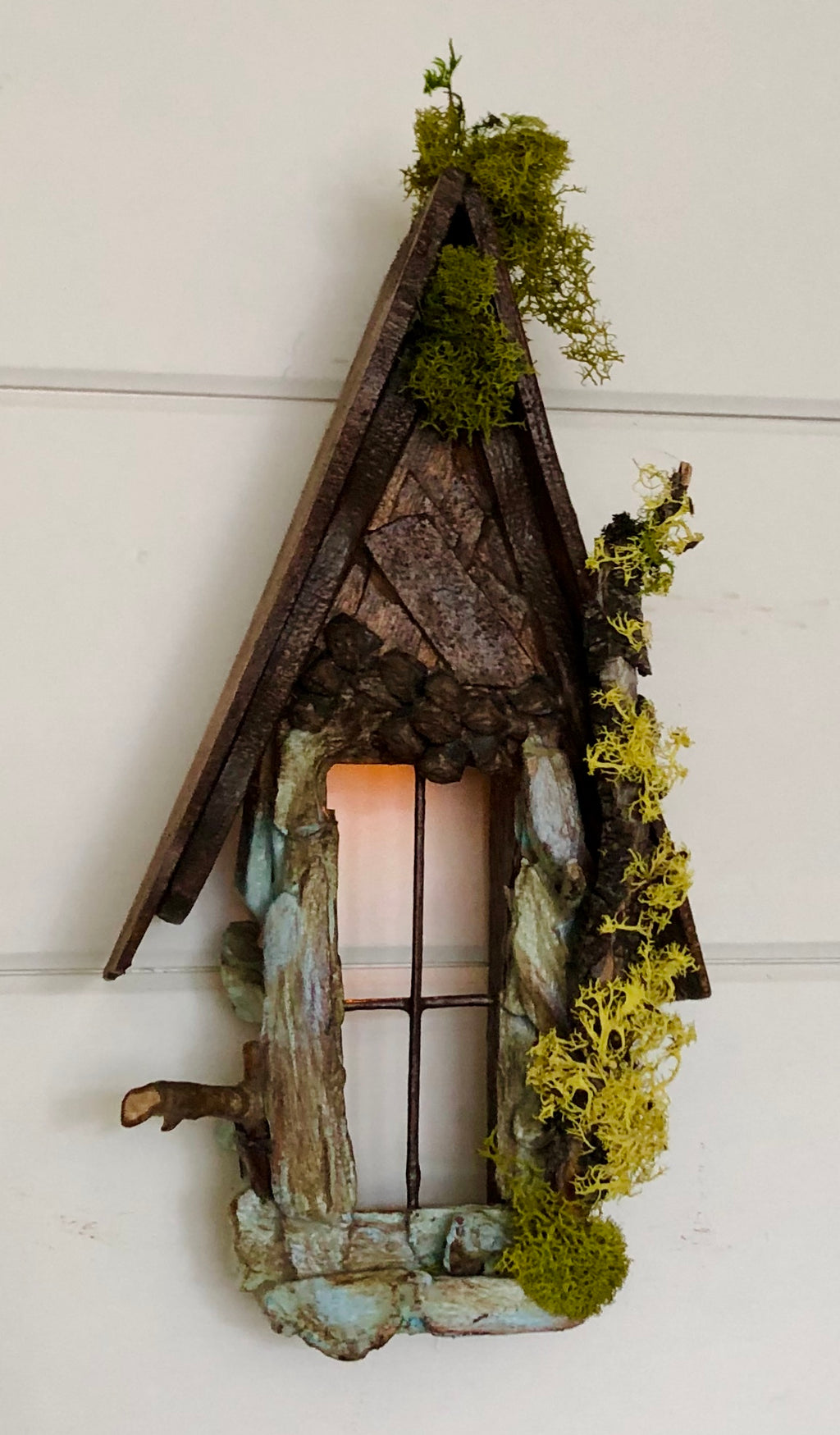 Fairy Window with Twinkle Light by Olive