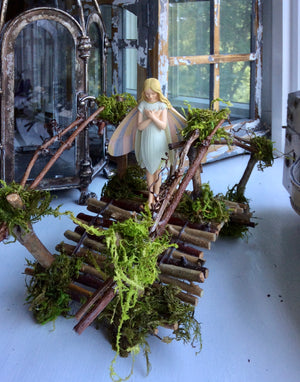 Fairy Bridge by Olive Sealed for Outdoor Display