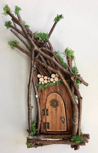 Fairy Door ~ Handcrafted by Olive