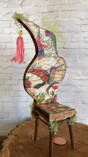 Hummingbird Fairy Chair by Olive