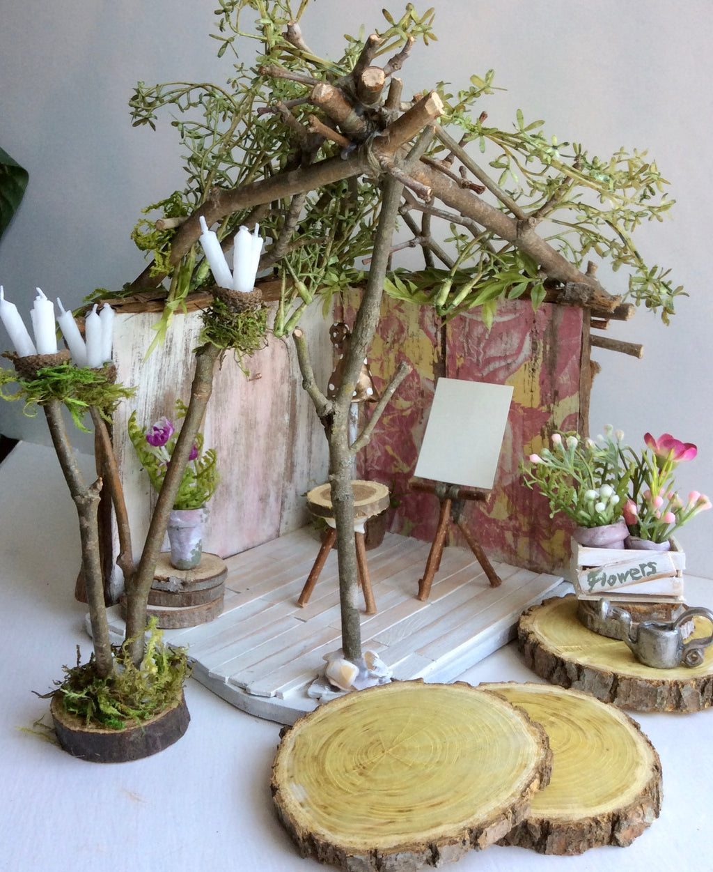 Fairy House, Fairy Shanty by Olive