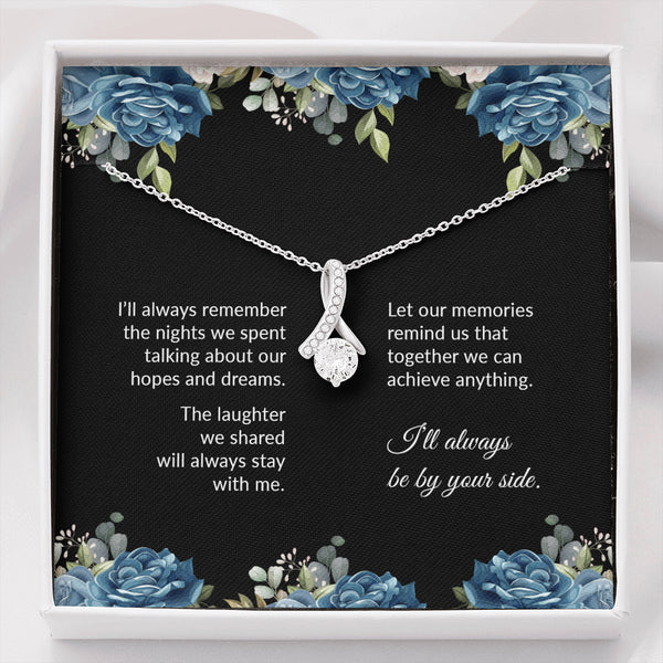 By Your Side Alluring Friendship Necklace