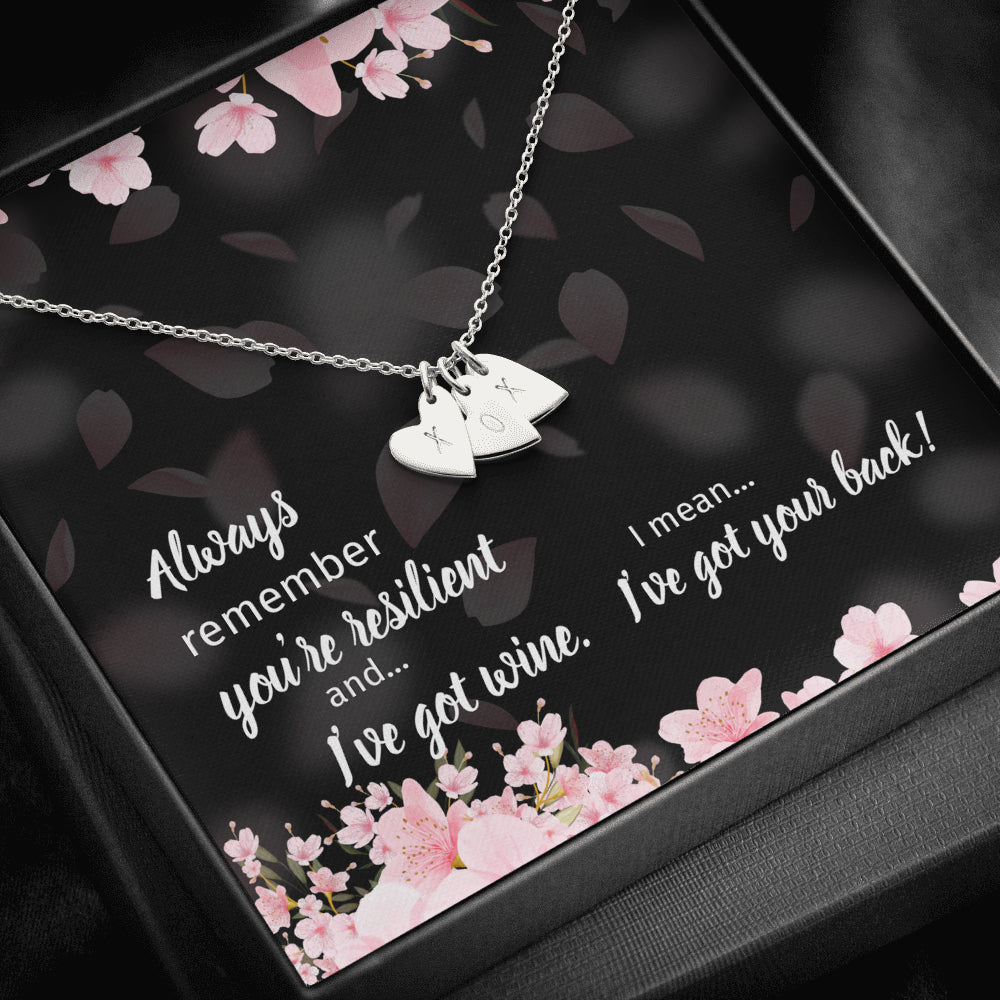 Resilient Hearts Personalized Necklace