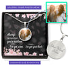 Resilient Hearts Personalized Photo Circle Necklace