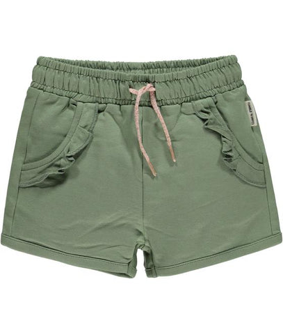 Mädchen Short Hose Margje Hedge Green