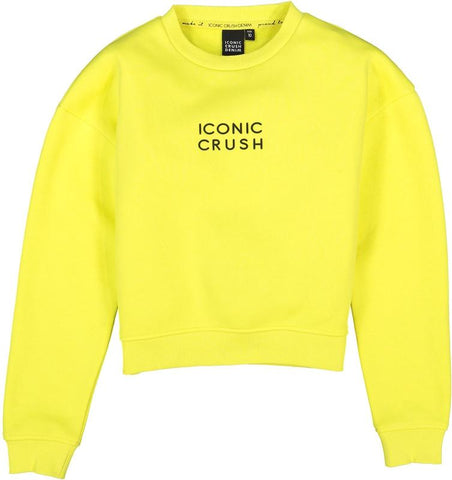Mädchen Pullover Sweater Nola Green Yellow