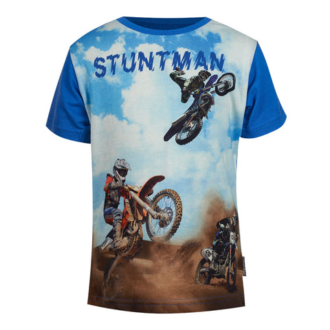 Jungen T-Shirt Jeep Blue SB 02 C