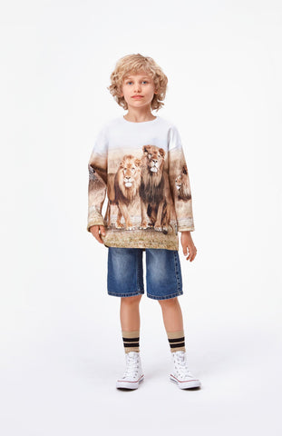 Jungen Pullover Sweater Mountoo Savanna