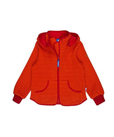 Baby Unisex Fleecejacke Jacke Tonttu Striped Carrot/Cranberry