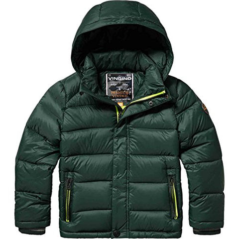Jungen Winterjacke Telmo Dark Green