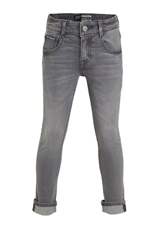 Jungen Jeans Hose Boston Light Grey Stone