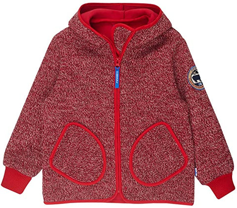 Unisex Strickjacke Außenjacke Tonttu Wind Red