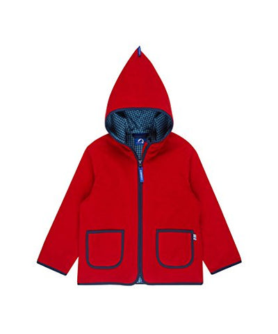 Unisex Fleecejacke Jacke Tonttu Red/Denim
