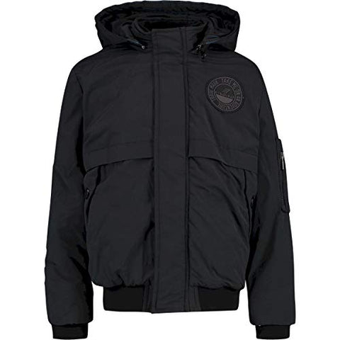 Jungen Winterjacke Bomberjacke Theigo Deep Black