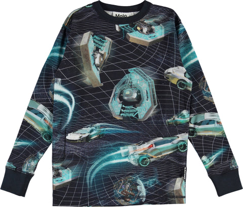 Jungen Langarm Shirt Rill Time Machines