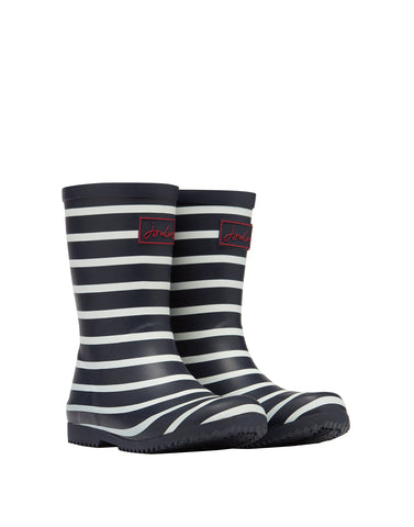Jungen Gummistiefel Junior Roll Up Welly Navystripe 207329