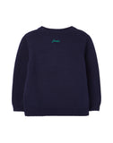 Jungen Strickpullover Sweater Burford Navy Dino 210618