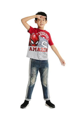 Jungen T-Shirt TS Spider Red