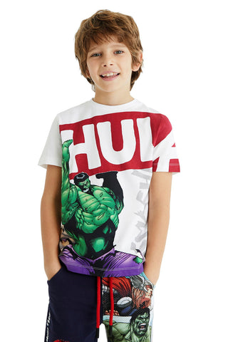 Jungen T-Shirt TS Smash White