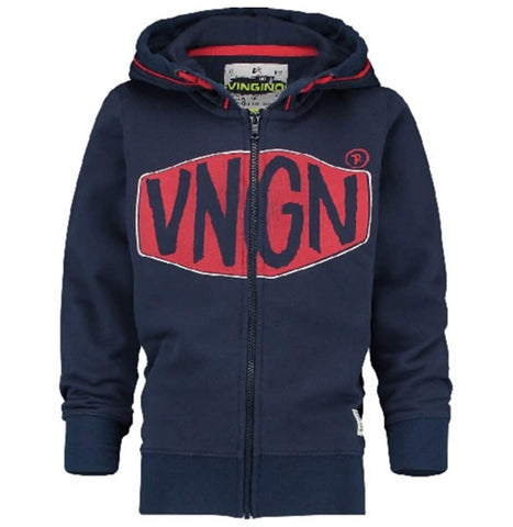 Jungen Sweatjacke Oxa Dark Blue