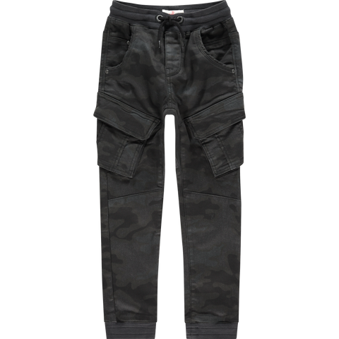 Jungen Cargo Hose Carlos Army All-Over