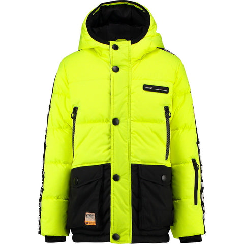 Jungen Winterjacke Tide Neon Yellow