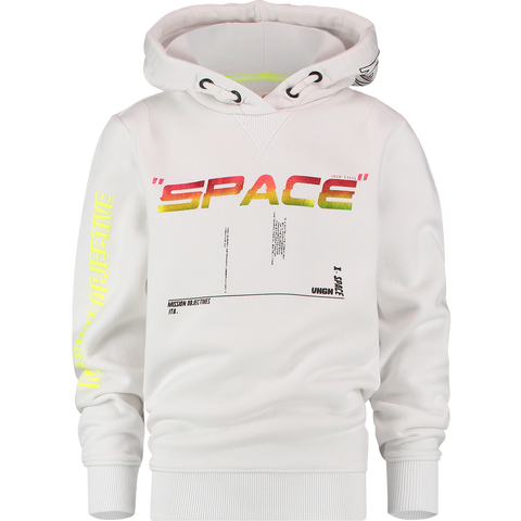 Jungen Hoodie Nerick Real White