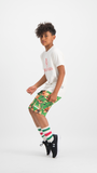 Jungen Shorts Sweatpants Rosario Frog Green