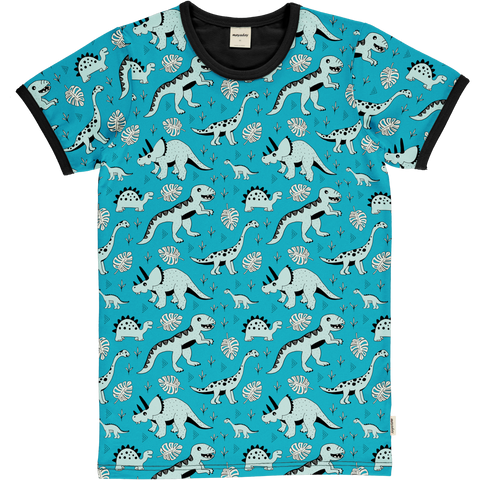 Jungen T-Shirt Top SS Dino Forest