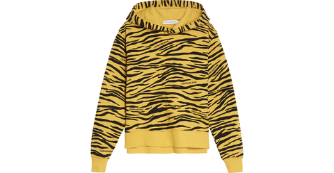 Mädchen Urban Animal Print Hoodie IG0IG00692 Yellow
