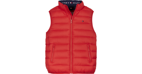 Unisex Weste U Light Down Vest KS0KS00127 Deep Crimson