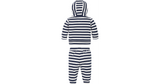 Jungen Baby Striped Hoodie Set KN0KN01174 Twilight Blue