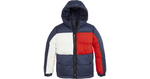 Jungen Winterjacke Jacke Flag Hooded Jacket KB0KB05990 Navy