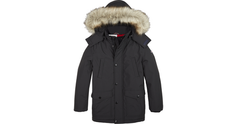 Jungen Winterjacke Wintermantel Tech Parka KB0KB05151 Black