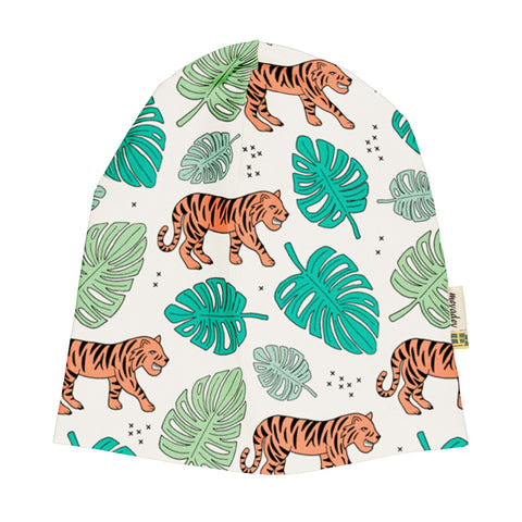 Sommermütze Beanie Hat Tiger Jungle
