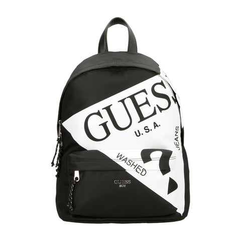 Devin Backpack HBDEV2 - PU203 - Black Rucksack Boy