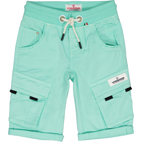 Jungen Shorts Cargo Cliff Colored Active Mint