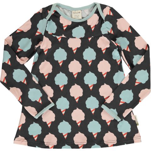 Mädchen Longsleeve Top Flare LS Sweet Cotton Candy